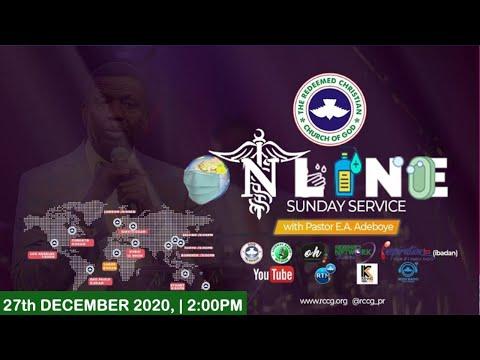 RCCG DECEMBER 27TH 2020  PASTOR E.A ADEBOYE SPECIAL SERVICE