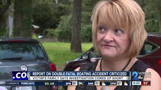 Victim's family says investigation into double-fatal boating accident came up short