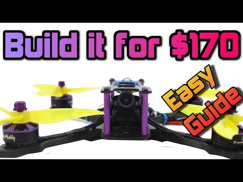 How to build a 110MPH+ FPV Racing DRONE for UNDER $180 Full Build guide + Giveaway - UC3ioIOr3tH6Yz8qzr418R-g