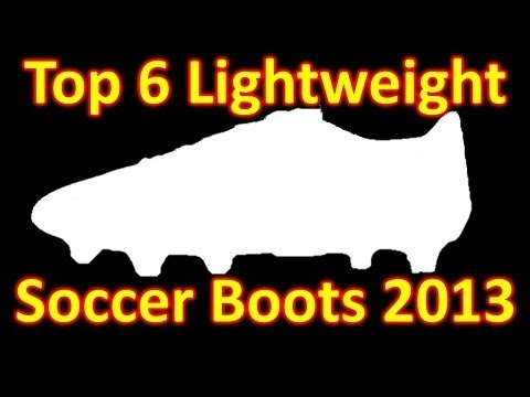 Top 6 Lightweight Soccer Cleats/Football Boots 2013 - UCUU3lMXc6iDrQw4eZen8COQ