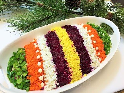 СЕЛЕДКА ПОД ШУБОЙ  Салат, секреты приготовления. Как легко украсить салат.  Salad with Herring/ - UCMObDkERszPNzMU6cYpyh5A
