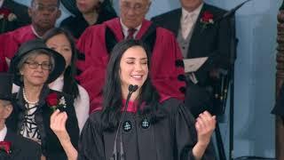 Graduate English address by Lucila Takjerad | Harvard Commencement 2019