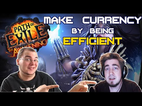 Path of Exile - How to make Currency and Level Faster by being Efficient (with Zizaran)