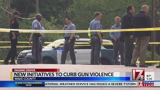 Wake County to develop strategy to curb gun violence