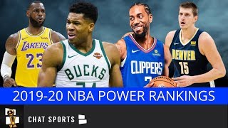NBA Power Rankings: 2019-20 Way Too Early Edition Following NBA Free Agency