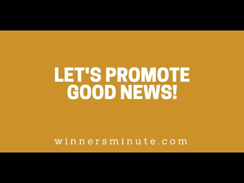 Lets Promote Good News! // The Winner's Minute With Mac Hammond