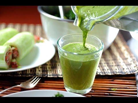 Receta Detox - Batido verde desintoxicante de cúrcuma - UCvg_5WAbGznrT5qMZjaXFGA