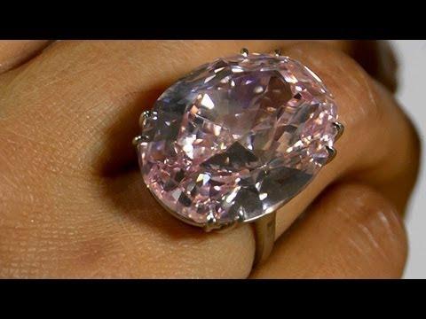 Kim cương hồng với giá 60 triệu đô