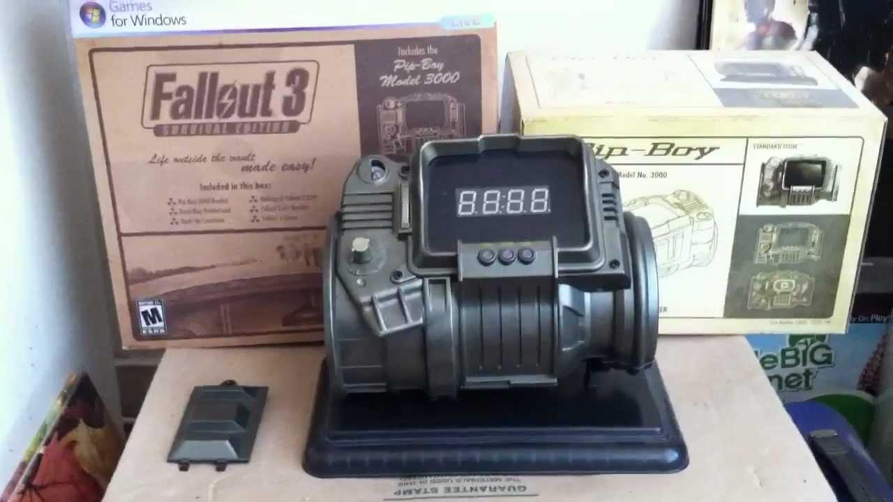 FALLOUT 3 Survival Edition Pip-Boy 3,000 Clock | Racer lt