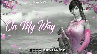 Alan Walker_ On My Way Song Lyrics 💕 Sabrina_Carpenter & Farruko 💕 PUBG Love 💕 Kutty Libin Edits