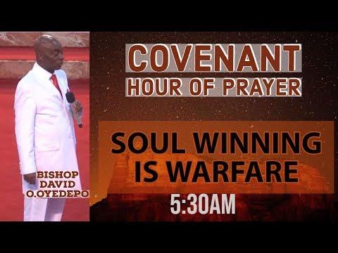 DOMI STREAM: COVENANT HOUR OF PRAYER  19, OCTOBER  2019