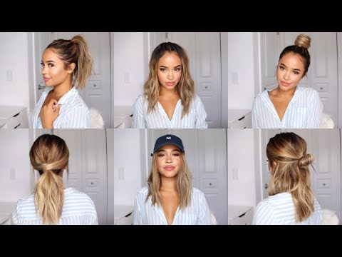 CUTE AND EASY HAIRSTYLE IDEAS FOR SCHOOL! | Maria Bethany - UCzj41PvS6wpzs4JkXTY0ikA