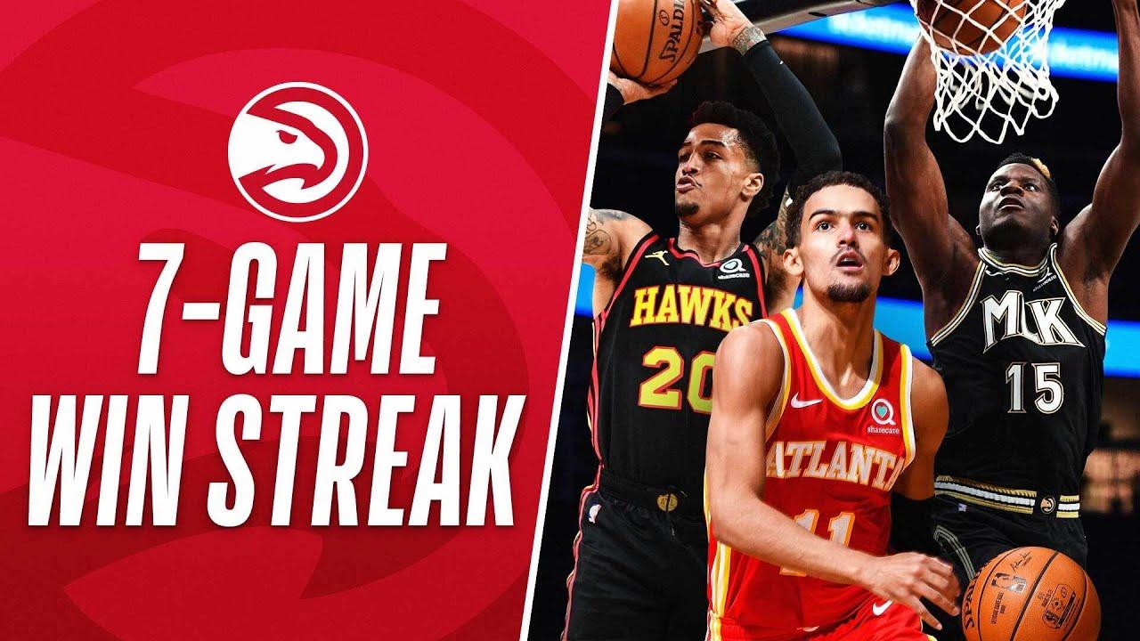 Best Of Atlanta Hawks 7-Game Win Streak!