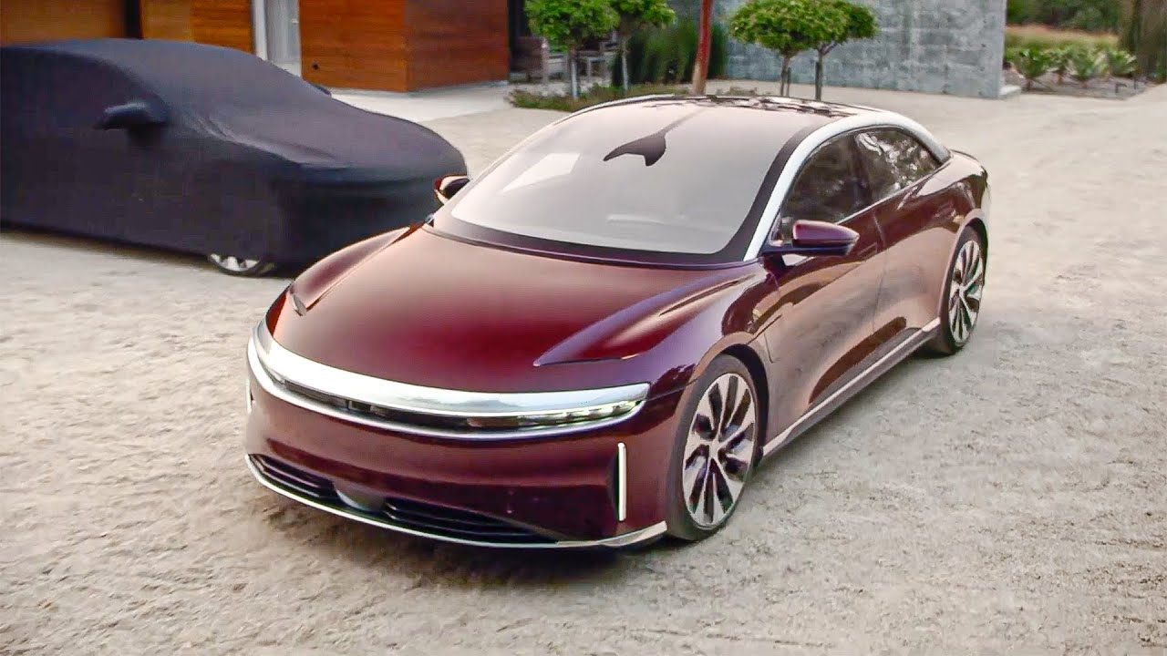 The Lucid Air is ready to fight the Tesla Model S