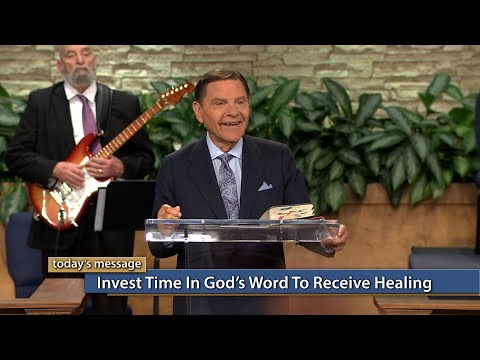 Invest Time in Gods WORD To Receive Healing