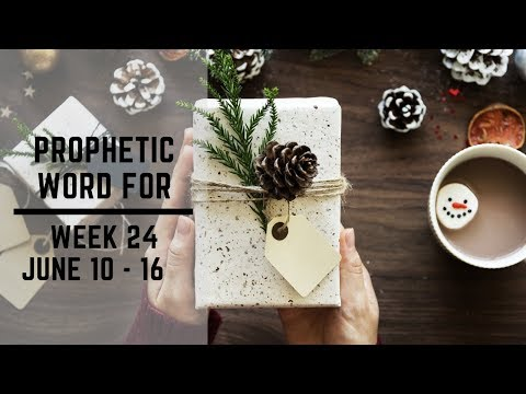 Weekly Word 10 June 2019
