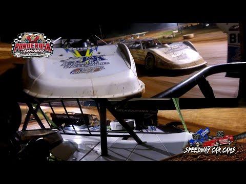 #1 Tyler Erb - Super Late Model - 8-6-21 Ponderosa Speedway - In-Car Camera - dirt track racing video image