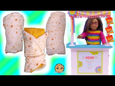 Burrito Cutetitos Surprise + Taco Cat Puzzle At Snack Stand with American Girl - UCelMeixAOTs2OQAAi9wU8-g