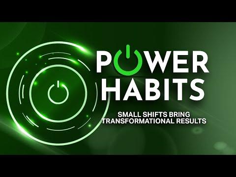 Power Habits  A New Series at Awakening House of Prayer