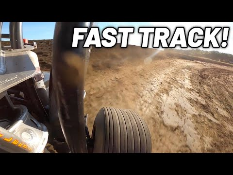 Tanner Holmes ONE OF THE FASTEST 410 TRACKS IN THE COUNTRY! (Waynesfield Raceway Park) - dirt track racing video image