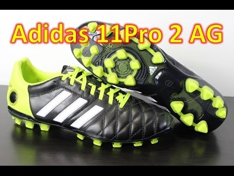 Adidas adiPure 11Pro 2 AG Black/White/Solar Slime - Unboxing + On Feet - UCUU3lMXc6iDrQw4eZen8COQ