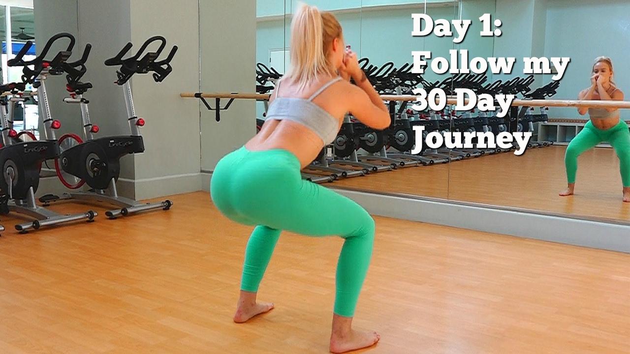 Day 1: Follow My 30 Day Fitness Journey