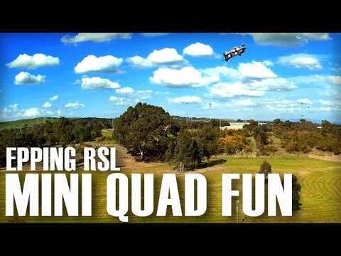 Mini Quad flying at Local RSL - CGX250 & Minion - UCOT48Yf56XBpT5WitpnFVrQ