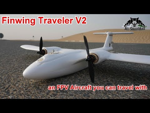 Finwing Traveler V2 Backpack FPV Plane Maiden Flight - UCsFctXdFnbeoKpLefdEloEQ