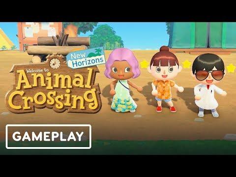 Animal Crossing: New Horizons Deserted Island Gameplay - Nintendo Direct - UCKy1dAqELo0zrOtPkf0eTMw