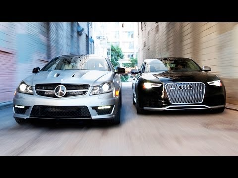2014 Audi RS5 vs 2014 Mercedes-Benz C63 507 Coupe! - Head 2 Head Ep. 51 - UCsAegdhiYLEoaFGuJFVrqFQ