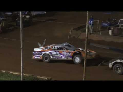 Flip in 602 Thunder Series at Winder Barrow Speedway May 15th 2021 - dirt track racing video image