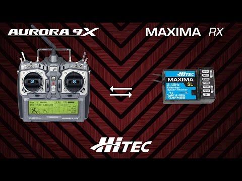 Hitec Aurora 9x / Minima - Maxima - Optima Bind Islemi
