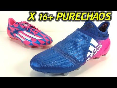 Adidas X 16+ Purechaos (Blue Blast Pack) - One Take Review + On Feet - UCUU3lMXc6iDrQw4eZen8COQ