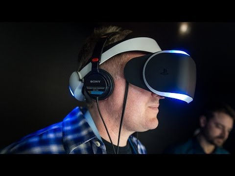 Hands-On: Sony's 'Project Morpheus' PlayStation 4 Virtual Reality Headset - UCiDJtJKMICpb9B1qf7qjEOA