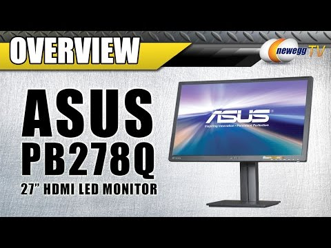 "ASUS PB287Q Black 28"" 4K UHD HDMI Widescreen LED Backlight LCD Monitor Overview - Newegg TV - UCJ1rSlahM7TYWGxEscL0g7Q"
