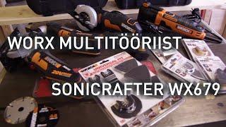 Worx multitööriist Sonicrafter WX679