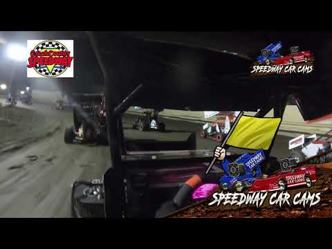 #9 Abigayle Lett - Restricted Micro - 4-30-2021 Creek County Speedway - In Car Camera - dirt track racing video image