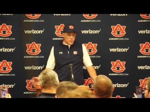 Gus Malzahn Press Conference | Auburn at Ole Miss 2016