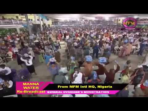 YORUBA MFM SPECIAL MANNA WATER SERVICE WEDNESDAY MAY 6th 2020