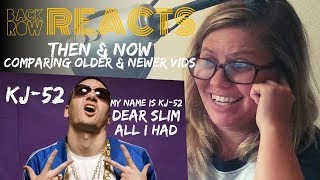 KJ-52 Then & Now | Morning Show Host Reaction | Comparing Old & New Vids