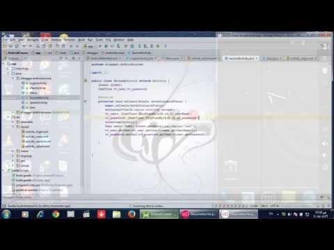 كورس برمجة تطبيقات الاندرويد  11 Intent Put Extra With Serializable User