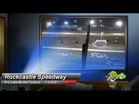 Rockcastle Speedway - Pro Late Model Feature - 7/3/2021 - dirt track racing video image