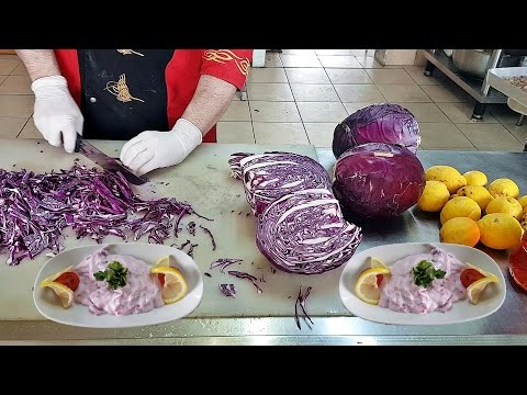 Purple Cabbage Appetizer Pink Sultan And Mayonnaise Recipe - UC7ow90uYlS9myGFWrmcvqIg