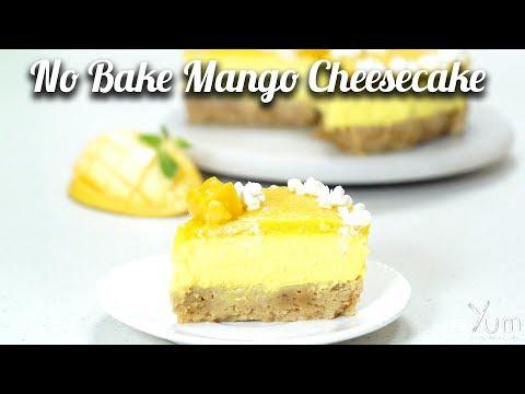 No Bake Mango Cheesecake  |  Mango Cheesecake Recipe | How to Make No Bake Mango Cheesecake