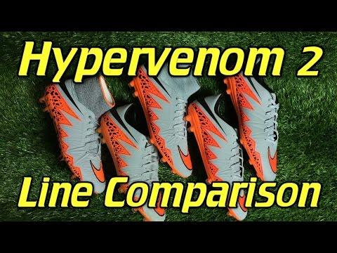 Nike Hypervenom 2 Line Comparison   Phantom 2 vs Phinish vs Phatal 2 DF vs Phatal 2 vs Phelon 2 - UCUU3lMXc6iDrQw4eZen8COQ