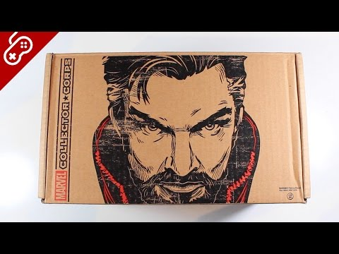 Unboxing Doctor Strange Marvel Subscription Box - UCRg2tBkpKYDxOKtX3GvLZcQ
