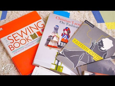 PATTERN AND SEWING BOOKS FOR FASHION DESIGN | KIM DAVE - UCMt5gaZ26hjIW-XFWoYDAHA