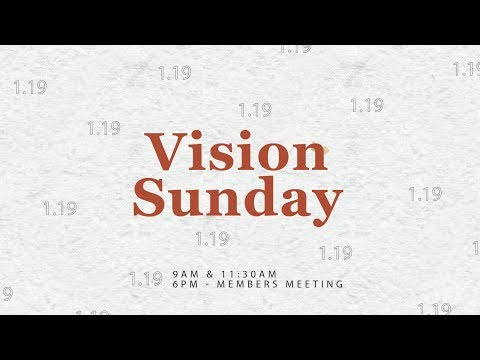 Sunday Service  January 19th, 2020  9 AM