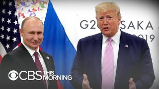 Trump appears to make light of Russian interference in 2016 election at G20 summit