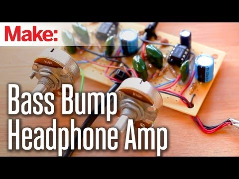 Weekend Projects - Bass Bump Headphone Amp - UChtY6O8Ahw2cz05PS2GhUbg